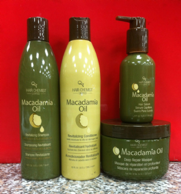 MACADAMIA OIL HAIRCARE PRODUCT